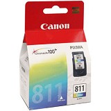 CANON Color Ink Cartridge [CL811] - Tinta Printer Canon